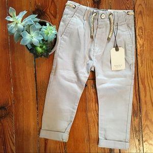 ZARA BOYS collection Perfect Khaki Pants - Size 4